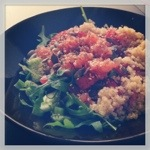 quinoa salade zalm
